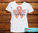 Endometrial Cancer Hope Keeps Me Going Shirts - GiftsForAwareness