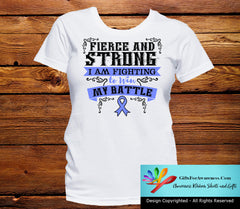 Esophageal Cancer Fierce and Strong I'm Fighting to Win My Battle - GiftsForAwareness