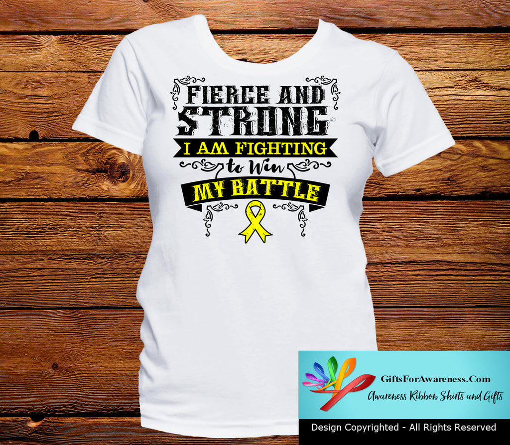 Ewings Sarcoma Fierce and Strong I'm Fighting to Win My Battle