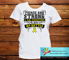 Ewings Sarcoma Fierce and Strong I'm Fighting to Win My Battle - GiftsForAwareness