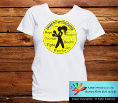 Ewings Sarcoma Fight Strong Motto T-Shirts - GiftsForAwareness