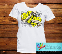 Ewings Sarcoma  Hope Believe Faith Love Shirts - GiftsForAwareness