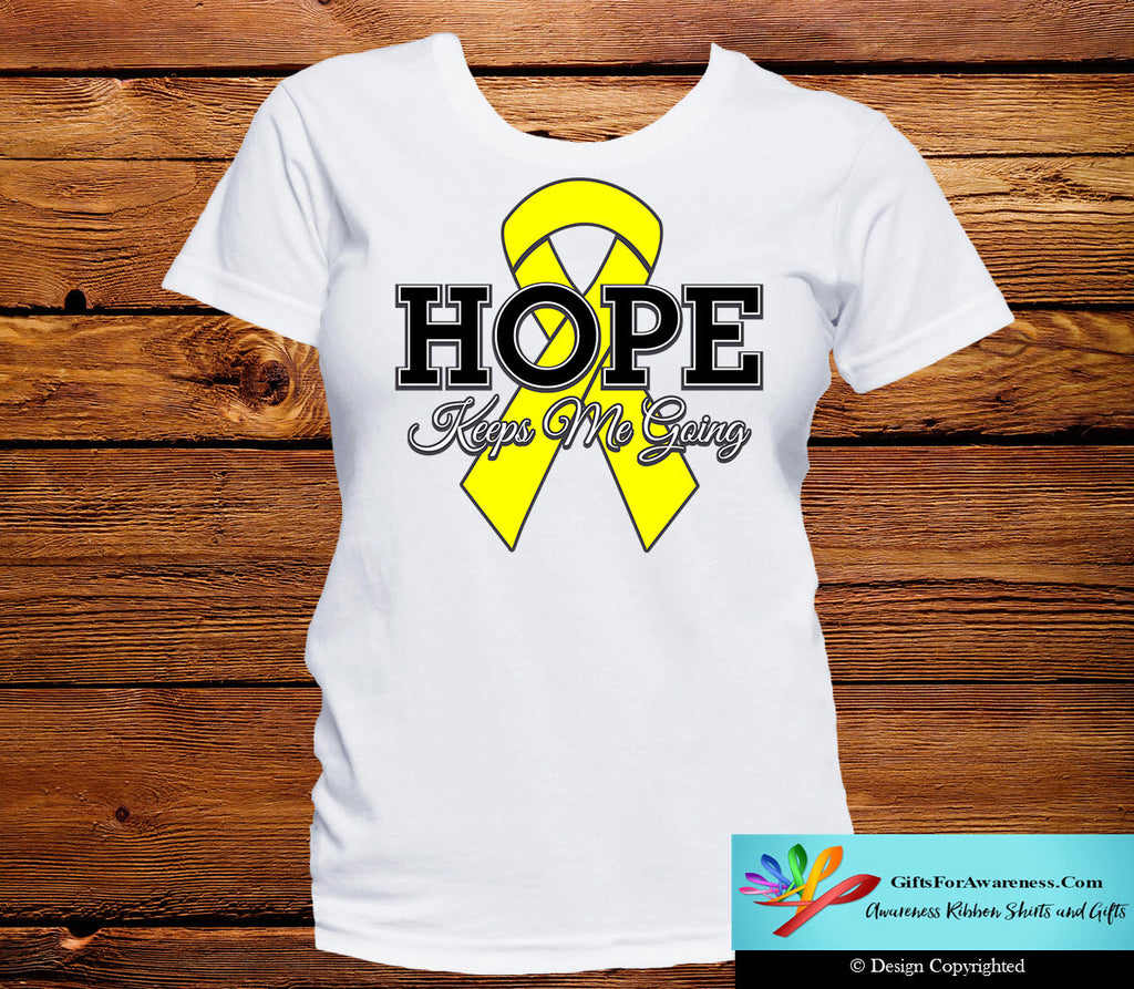 Ewings Sarcoma Hope Keeps Me Going Shirts