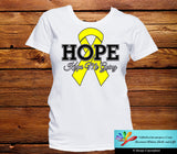Ewings Sarcoma Hope Keeps Me Going Shirts - GiftsForAwareness
