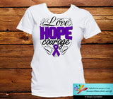 GIST Cancer Love Hope Courage Shirts - GiftsForAwareness