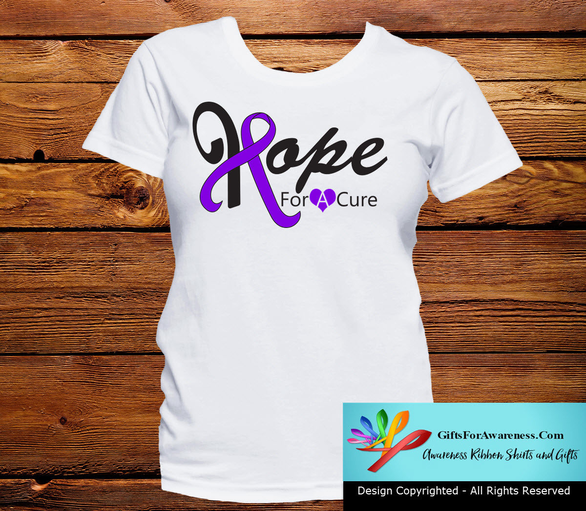 GIST Cancer Hope For A Cure Shirts - GiftsForAwareness