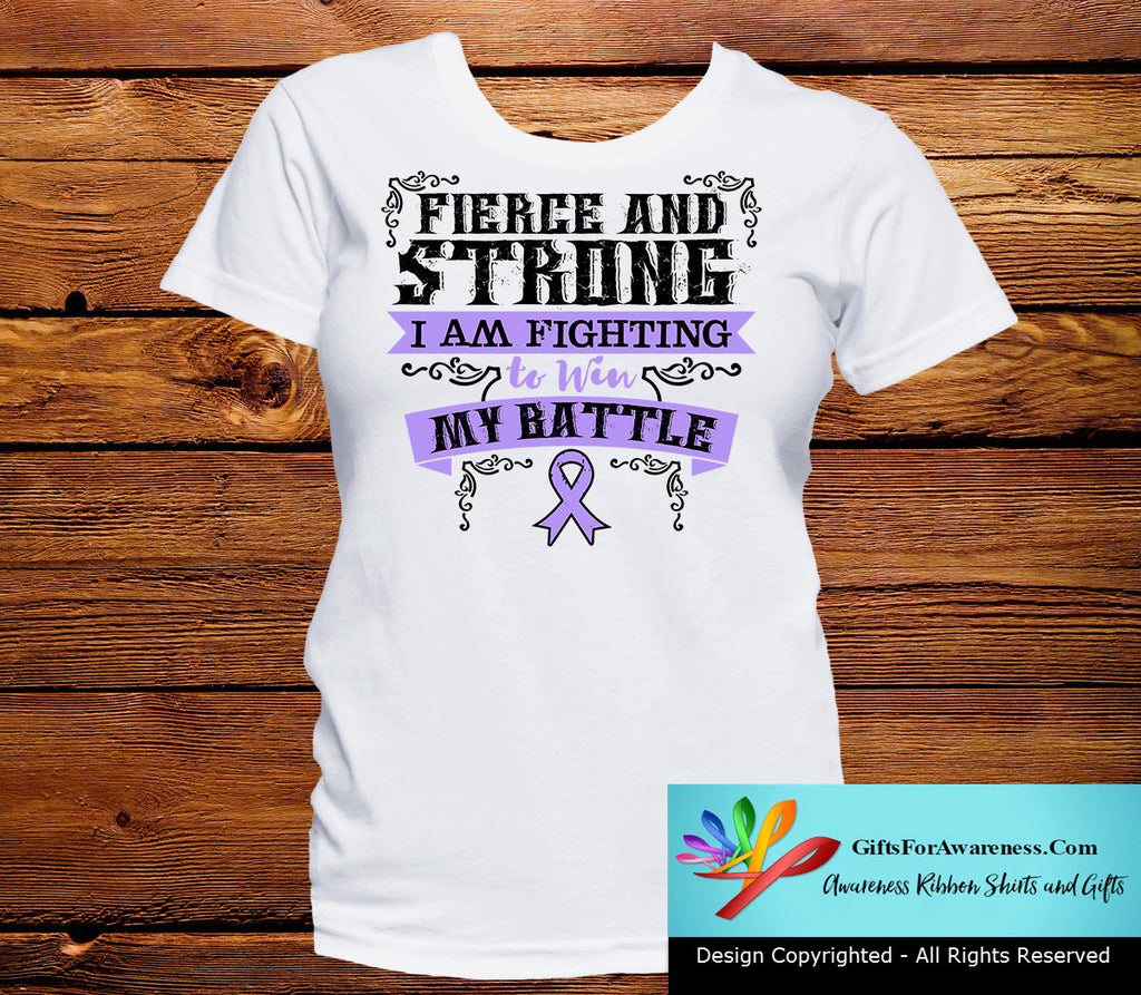 General Cancer Fierce and Strong I'm Fighting to Win My Battle