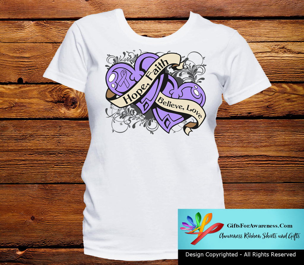 General Cancer Hope Believe Faith Love Shirts