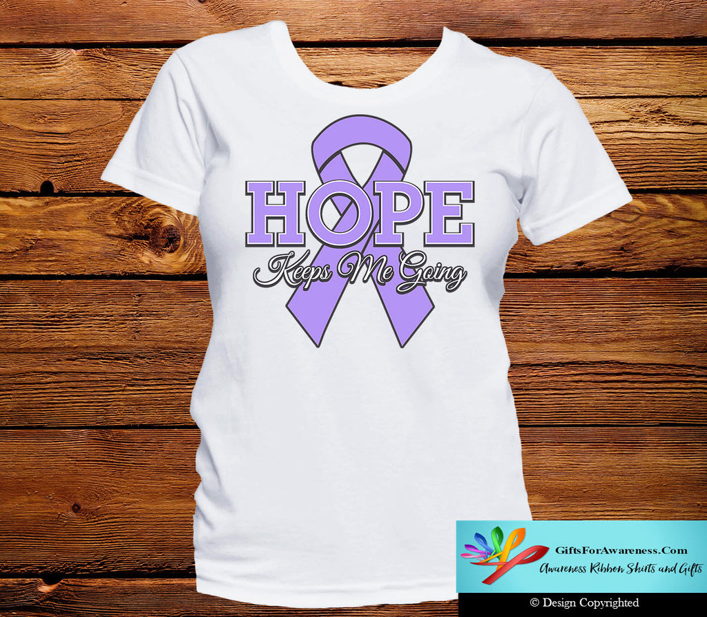 General Cancer Hope Keeps Me Going Shirts
