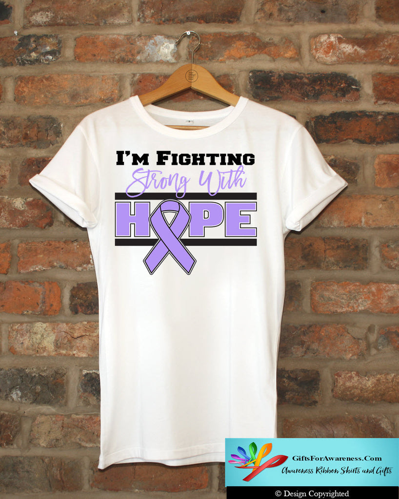 General Cancer Fighting Strong With Hope Shirts