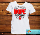 Heart Disease Love Hope Courage Shirts - GiftsForAwareness