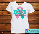 Hereditary Breast Cancer Hope Keeps Me Going Shirts - GiftsForAwareness