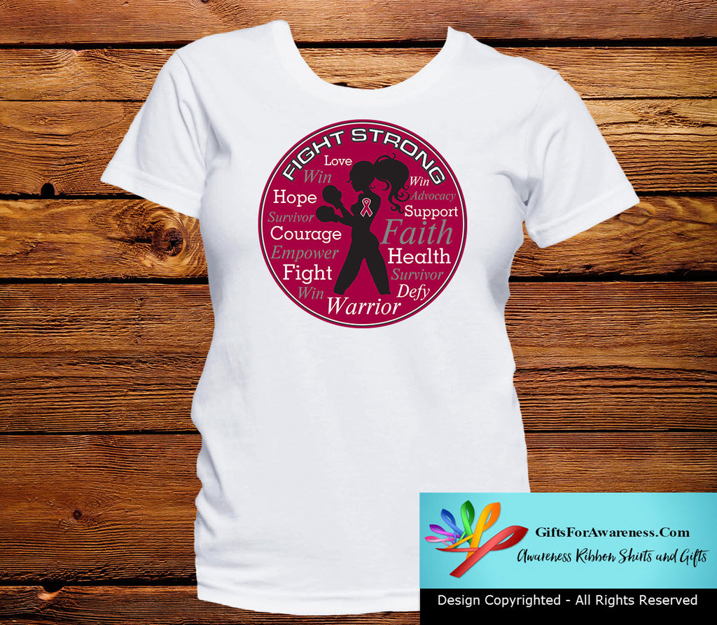 Hereditary Hemochromatosis Fight Strong Motto T-Shirts