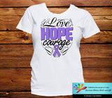 Hodgkins Lymphoma Love Hope Courage Shirts - GiftsForAwareness