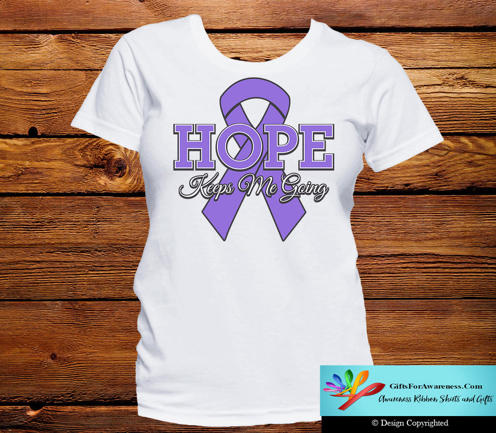 Hodgkin's Lymphoma Hope Keeps Me Going Shirts