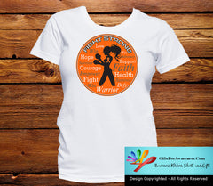 Kidney Cancer Fight Strong Motto T-Shirts - GiftsForAwareness