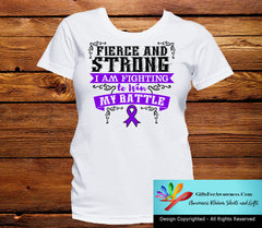 Leiomyosarcoma Fierce and Strong I'm Fighting to Win My Battle - GiftsForAwareness