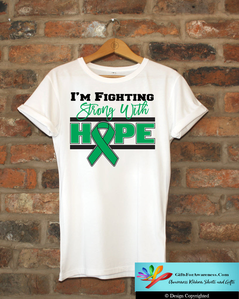 Liver Cancer I'm Fighting Strong With Hope Shirts
