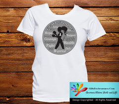 Lung Cancer Fight Strong Motto T-Shirts - GiftsForAwareness