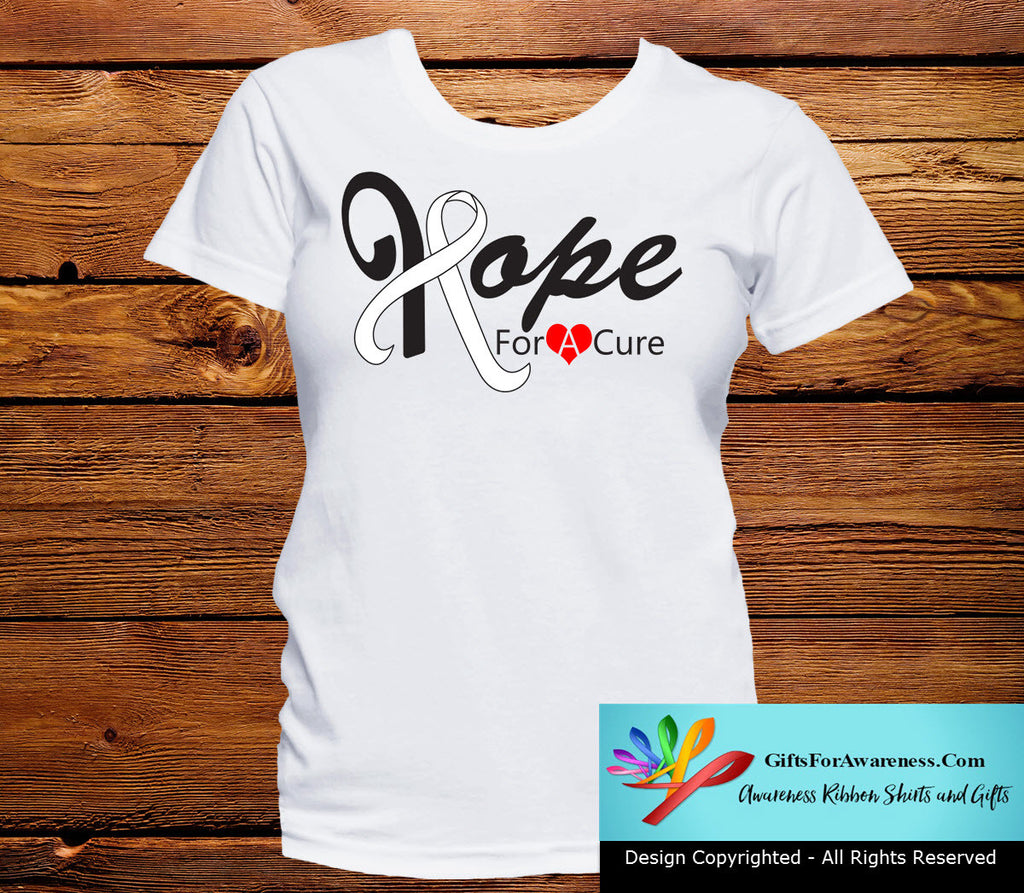 Lung Cancer Hope For A Cure Shirts