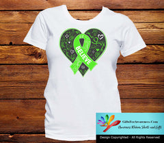 Lyme Disease Believe Heart Ribbon Shirts - GiftsForAwareness
