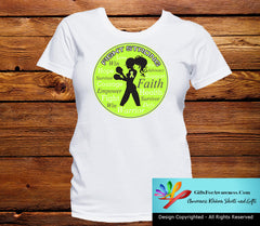 Lyme Disease Fight Strong Motto T-Shirts - GiftsForAwareness