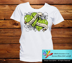 Lymphoma Hope Believe Faith Love Shirts - GiftsForAwareness