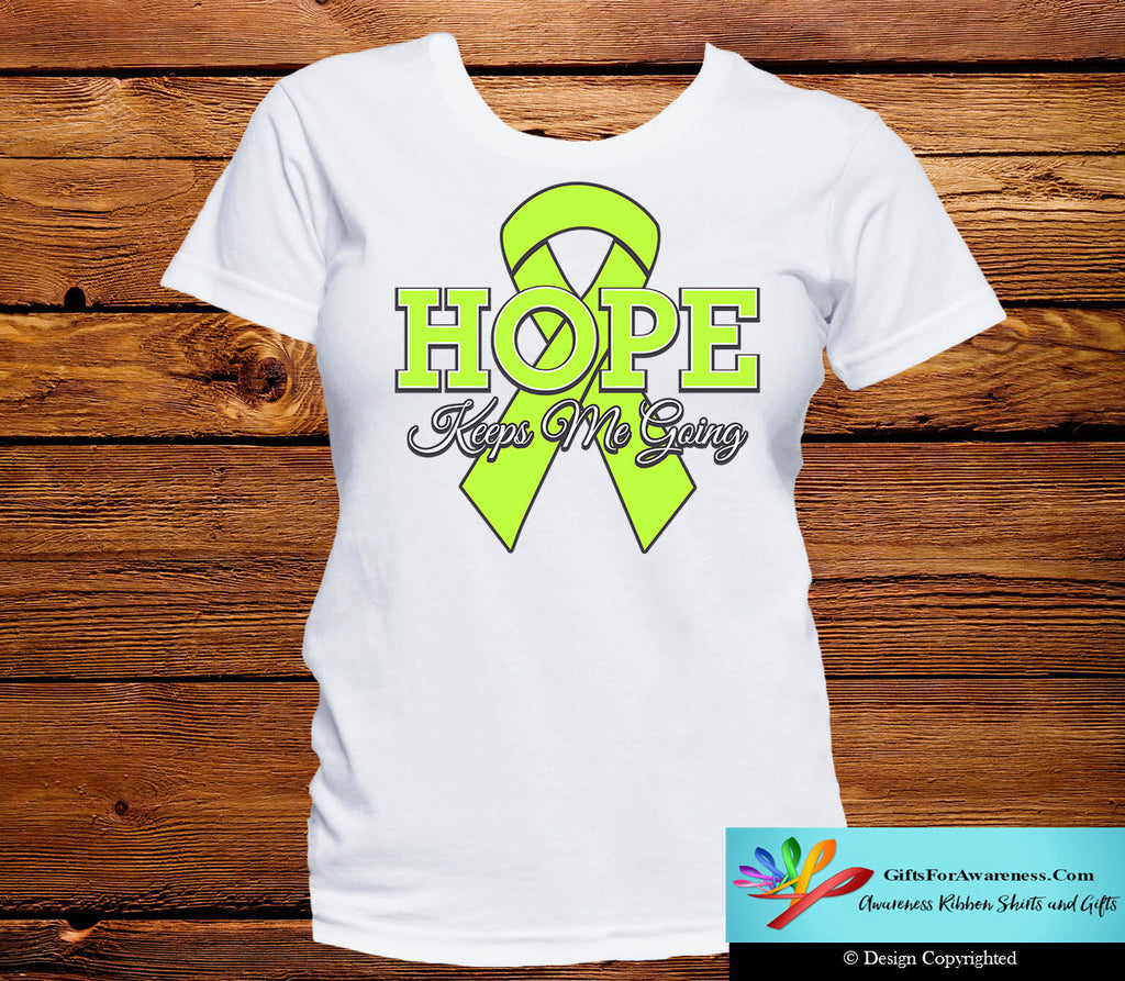 Lymphoma Hope Keeps Me Going Shirts