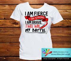MDS I Am Fierce Strong and Brave Shirts