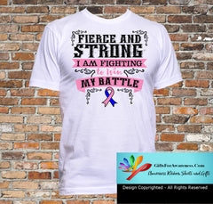 Male Breast Cancer Fierce and Strong I'm Fighting to Win My Battle - GiftsForAwareness