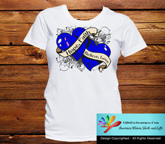 Male Breast Cancer Hope Believe Faith Love Shirts - GiftsForAwareness