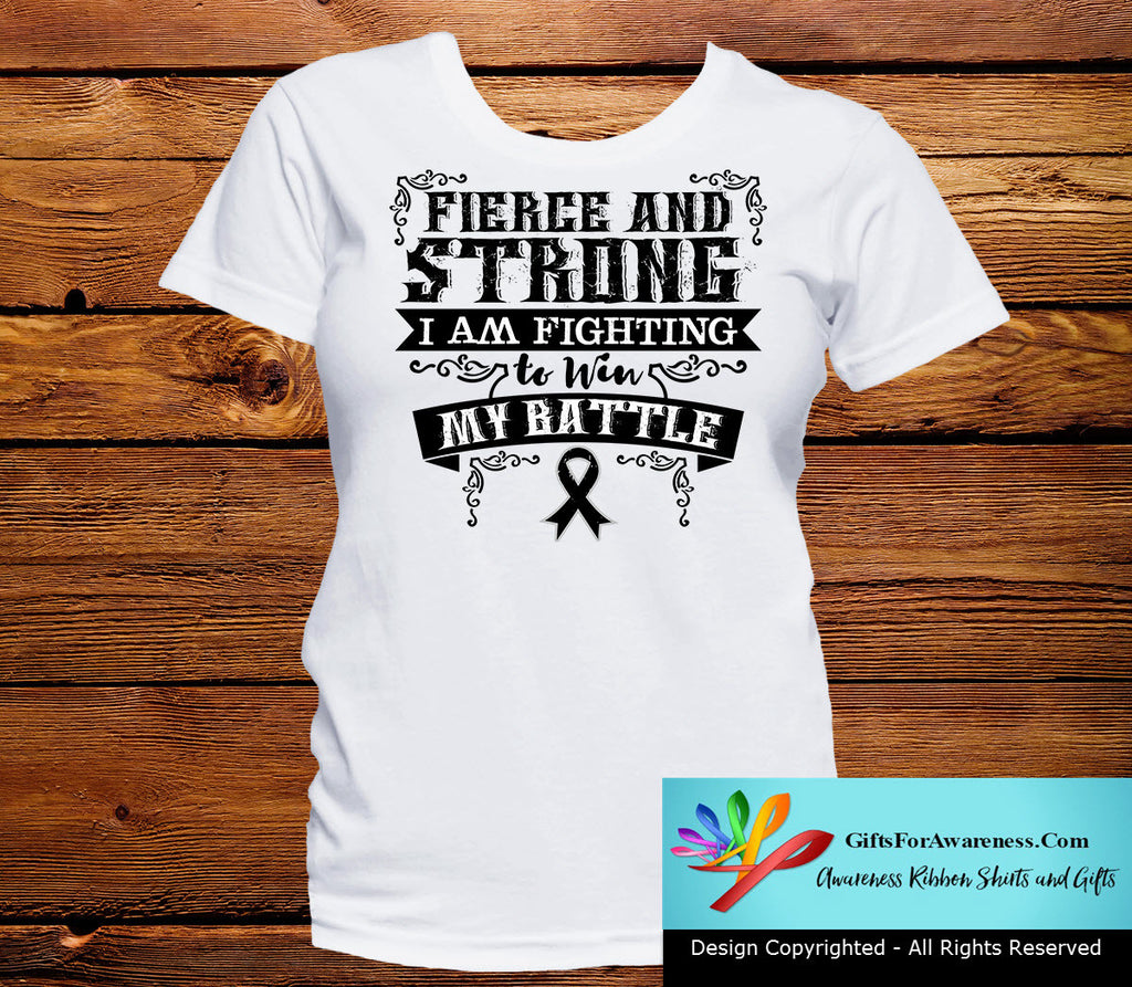 Melanoma Fierce and Strong I'm Fighting to Win My Battle