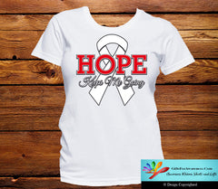 Mesothelioma Hope Keeps Me Going Shirts - GiftsForAwareness