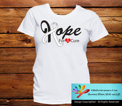 Mesothelioma Hope For A Cure Shirts - GiftsForAwareness