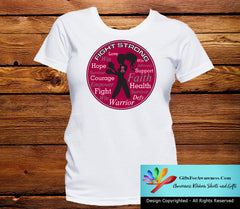 Multiple Myeloma Fight Strong Motto T-Shirts - GiftsForAwareness