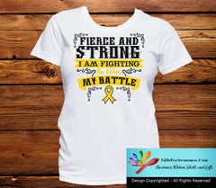 Neuroblastoma Fierce and Strong I'm Fighting to Win My Battle - GiftsForAwareness