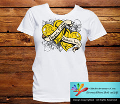 Neuroblastoma Hope Believe Faith Love Shirts - GiftsForAwareness
