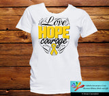 Neuroblastoma Love Hope Courage Shirts - GiftsForAwareness