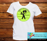 Non-Hodgkin's Lymphoma Fight Strong Motto T-Shirts - GiftsForAwareness