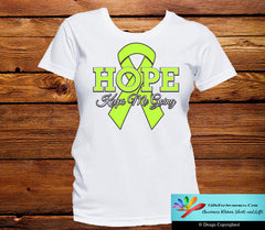 Non-Hodgkin's Lymphoma Hope Keeps Me Going Shirts - GiftsForAwareness