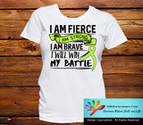 Non-Hodgkin's Lymphoma I Am Fierce Strong and Brave Shirts - GiftsForAwareness