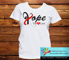 Oral Cancer Hope For A Cure Shirts