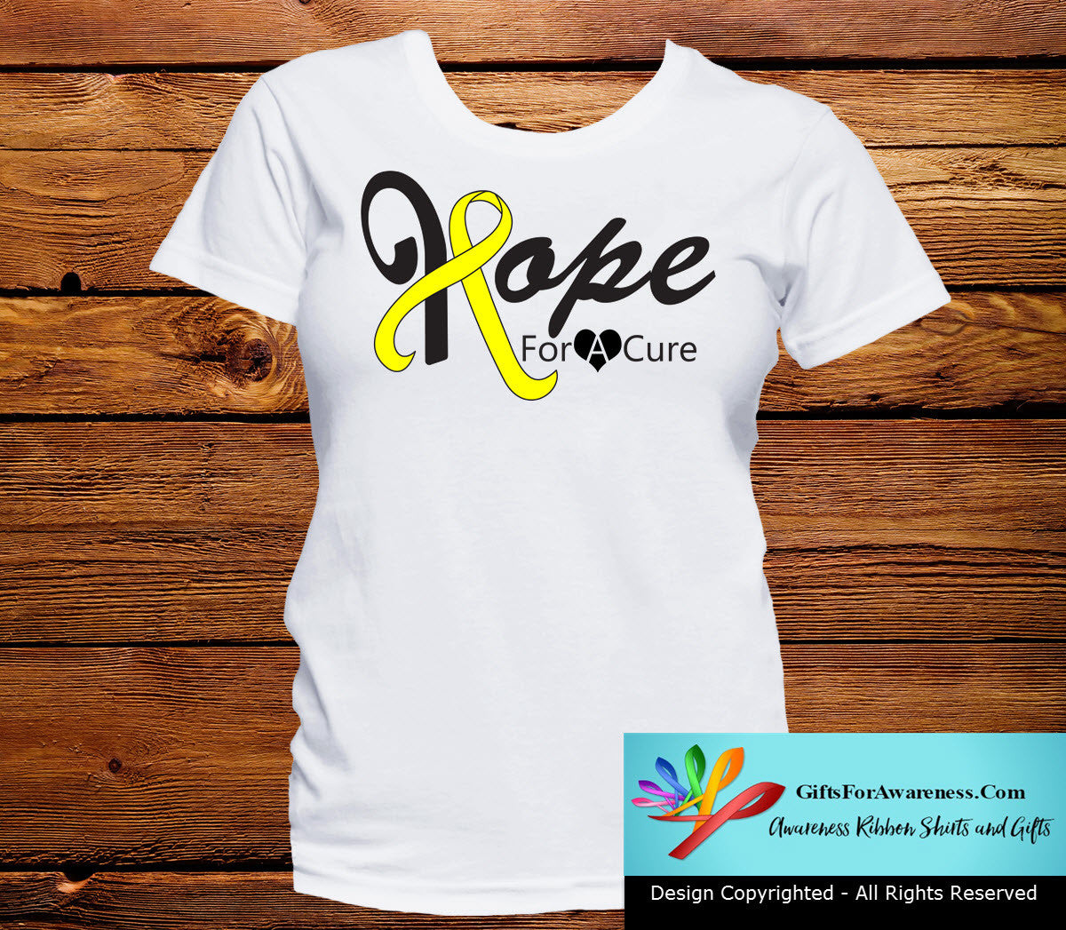 Osteosarcoma Hope For A Cure Shirts - GiftsForAwareness