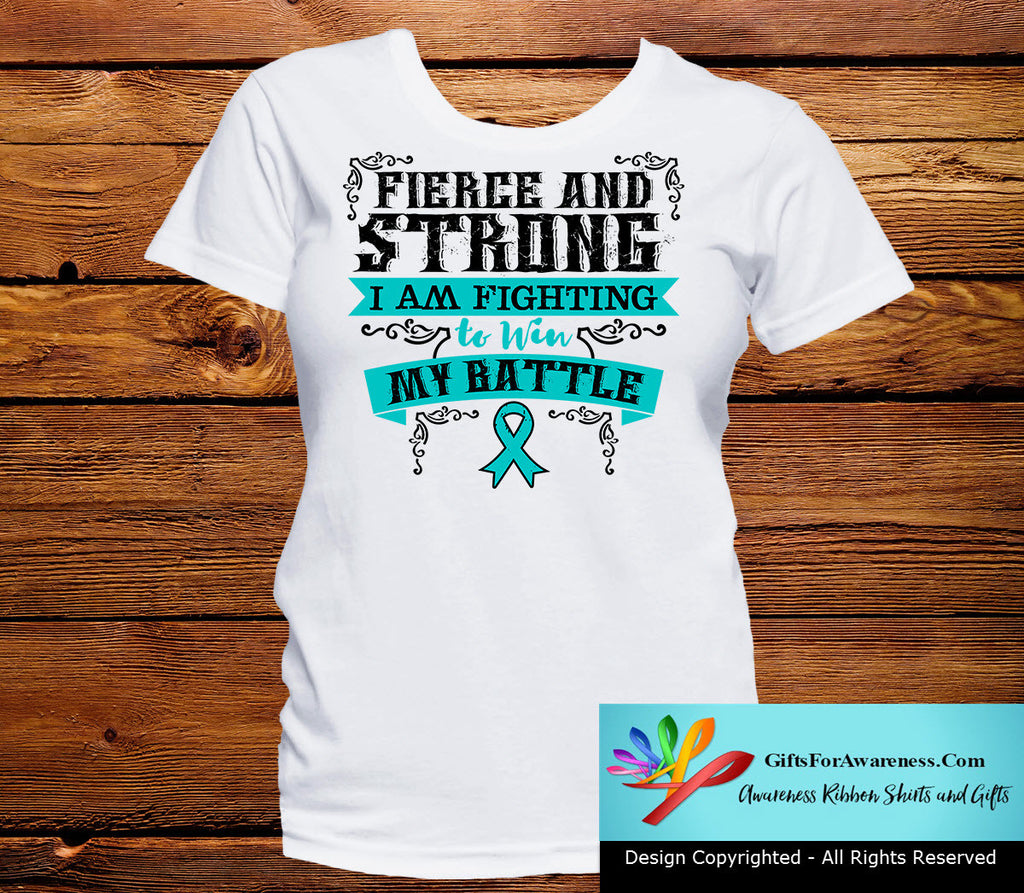 Ovarian Cancer Fierce and Strong I'm Fighting to Win My Battle