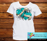 Ovarian Cancer Hope Believe Faith Love Shirts - GiftsForAwareness
