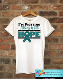 Ovarian Cancer I'm Fighting Strong With Hope Shirts - GiftsForAwareness