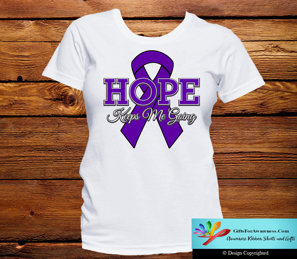 Pancreatic Cancer Hope Keeps Me Going Shirts
