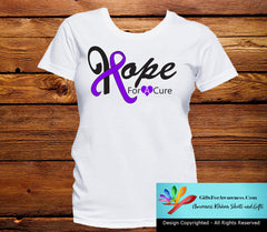 Pancreatic Cancer Hope For A Cure Shirts - GiftsForAwareness