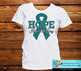 Ovarian Cancer Hope Keeps Me Going Shirts - GiftsForAwareness