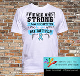 Prostate Cancer Fierce and Strong I'm Fighting to Win My Battle - GiftsForAwareness